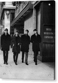 The Beatles Acrylic Print by Retro Images Archive