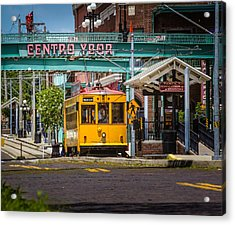 Streetcar Acrylic Print by Ybor Photography