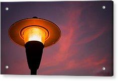 Streetlamp Acrylic Print