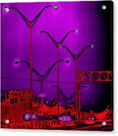 Streetlight Serenade 6 Acrylic Print by Wendy J St Christopher
