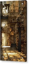 Streets Of Gold Acrylic Print