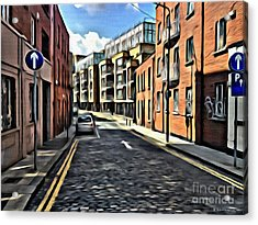 Streets Of Ireland Acrylic Print