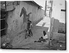 Streets Of Kadifekale District Acrylic Print by Ilker Goksen
