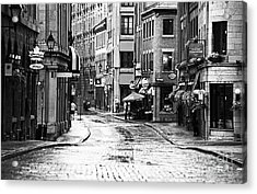 Streets Of Montreal Acrylic Print