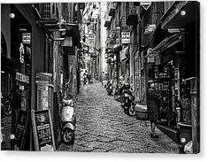 Streets Of Naples Acrylic Print