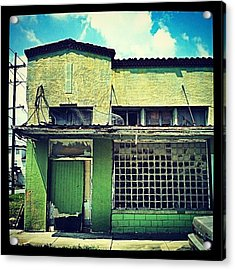 Streets Of New Orleans Acrylic Print