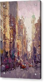 Streets Of New York Acrylic Print