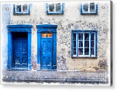Streets Of Old Quebec 2 Acrylic Print