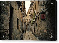 Streets Of Toledo Acrylic Print