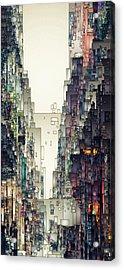 Streetscape 1 Acrylic Print by David Hansen