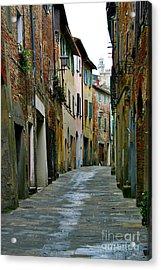 Streetscape Tuscany Acrylic Print
