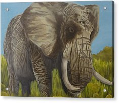 Strength Acrylic Print