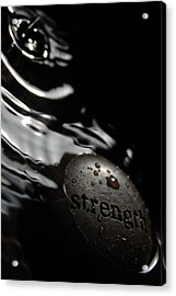 Strength Acrylic Print by Michael Donahue