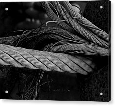 Strength Of Strings Acrylic Print by Odd Jeppesen