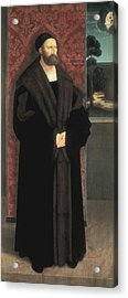 Strigel, Bernhard 1460-1528. Portrait Acrylic Print