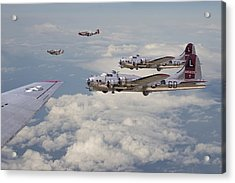 Strike Package Acrylic Print by Pat Speirs