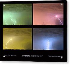 Striking Lightning Photography Acrylic Print