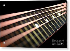 String Abstract Large Acrylic Print by Dan Holm