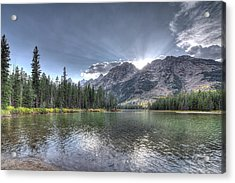 Acrylic Print featuring the photograph String Lake by Jeremy Farnsworth