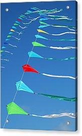String Of Kites Acrylic Print
