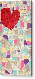 Strings To My Heart  Acrylic Print by Isaac Alcantar