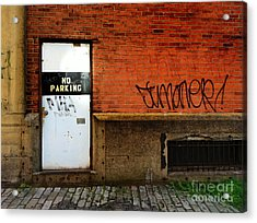 Strip District Doorway Number Two Acrylic Print by Amy Cicconi