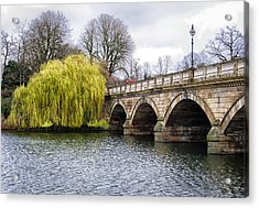 Stroll Along The Serpentine Acrylic Print