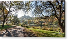 Stroll With Sugarloaf Acrylic Print