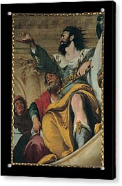 Strozzi Bernardo, The Parable Acrylic Print