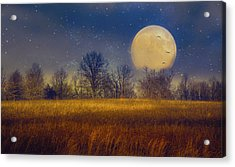 Struck By The Moon Acrylic Print
