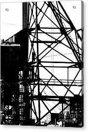 Structure 3 Acrylic Print by Newel Hunter
