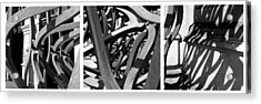 Structure #3 Acrylic Print by Tom Gallahue