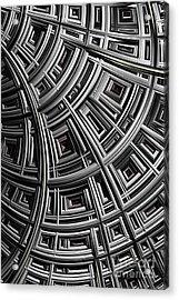 Structure Acrylic Print by John Edwards