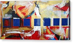 Structure No 6 Acrylic Print by Walter Fahmy