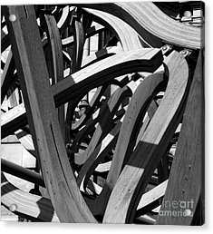 Structure Acrylic Print by Tom Gallahue