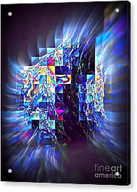 Structured Caous Acrylic Print by Greg Moores
