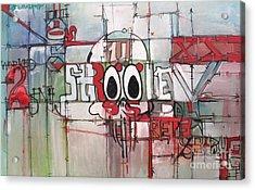 Struggle Repeat And Struggle Acrylic Print by J Ethan Hopper