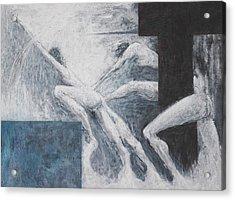 Struggle Acrylic Print by Wayne Carlisi