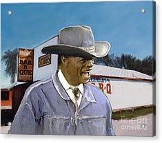 Stubb's Acrylic Print by G Cannon