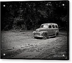 Stuck In The Mud Acrylic Print by Edward Fielding