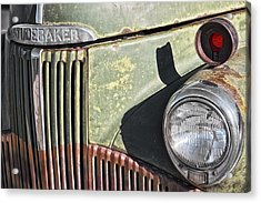 Acrylic Print featuring the photograph Studebaker Truck by Gigi Ebert