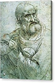 Study For An Apostle From The Last Supper Acrylic Print