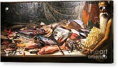 Study Of Hawaiian Fish Acrylic Print