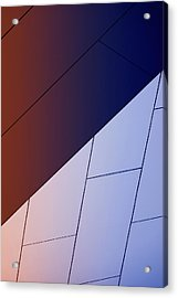 Study Of Patterns, Lines And Colors Acrylic Print by Roland Shainidze Photogaphy