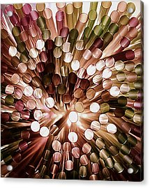 Study The Light Through These  Acrylic Print