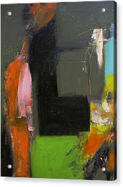 Study- Two Figures Acrylic Print by Fred Smilde