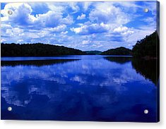 Acrylic Print featuring the photograph Stumpy Pond 04a by Andy Lawless