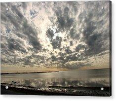 Acrylic Print featuring the photograph Stunning Coastal Sunrise by Linda Cox
