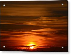 Stunning Sunset Acrylic Print by Nikki McInnes