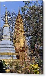 Stupas, Wat Preah Prom Rath, Siem Reap Acrylic Print